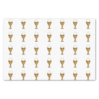 """Golden Chalice and Host - Holy Communion 10"""" X 15"""" Tissue Paper"""