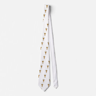 Golden Chalice and Host - Holy Communion Tie