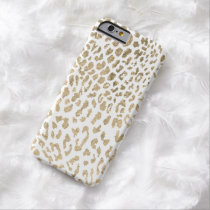 Golden Cheetah Barely There iPhone 6 Case