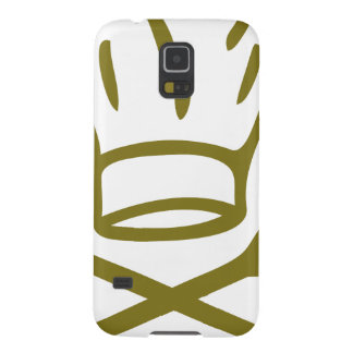 golden chef hat with wooden spoon icon galaxy s5 covers