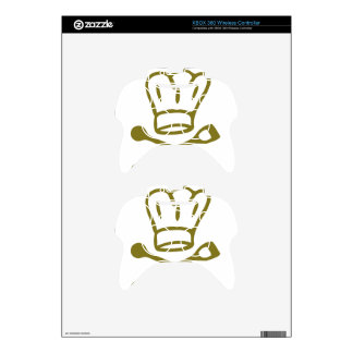 golden chef hat with wooden spoon icon xbox 360 controller skins