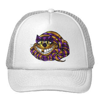 Golden Cheshire Cat Cap Trucker Hats