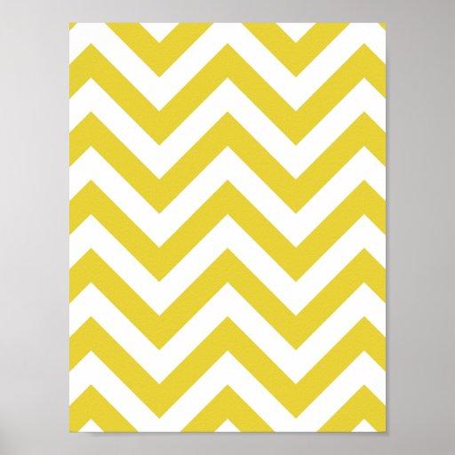 golden chevrons  zigzag pattern print