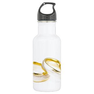 Golden Chic Stylish Bridal Shower 18oz Water Bottle