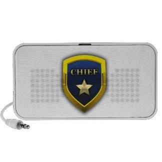 Golden Chief Badge Mp3 Speaker