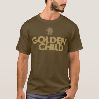 golden child gold lettering t shirt