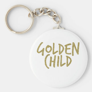 Golden Child Keychain