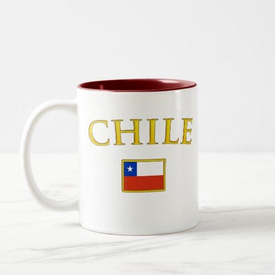 Golden Chile Two-Tone Coffee Mug
