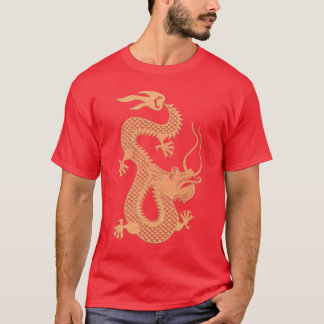 Golden Chinese Year of the Dragon T-Shirt