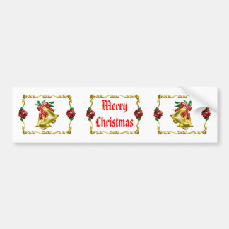 Golden Christmas #1 Bumper Sticker