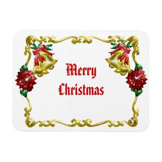 Golden Christmas #1 Magnet