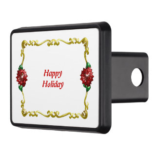 Golden Christmas #1 Tow Hitch Cover