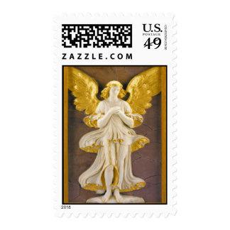 Golden Christmas Angel Stamps