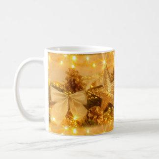 Golden Christmas Coffee Mug