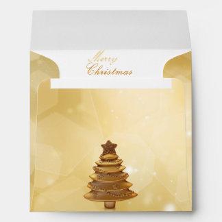 Golden Christmas - Envelope Square