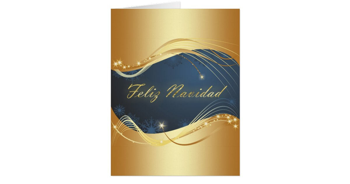 Golden Christmas motive with blue background...