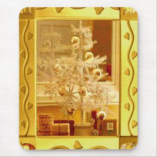 Golden Christmas Mousepad
