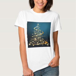 Golden Christmas Tree T-shirt
