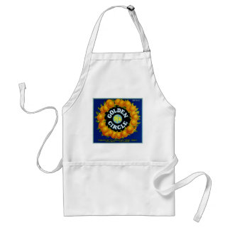 Golden Circle Oranges Adult Apron
