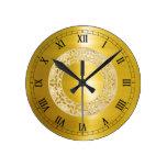 Golden Circle Wall Clocks