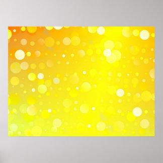 Golden Circles Poster