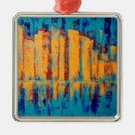 """Golden City"" by Linda Powell~Griginal Ornament"