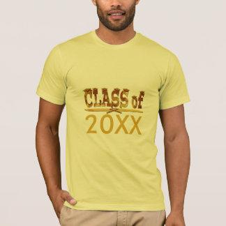 Golden Class of Year Grads T-Shirt
