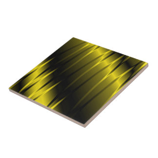 Golden Claws Small Square Tile