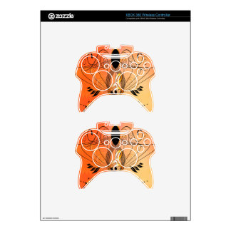 Golden clef xbox 360 controller decal