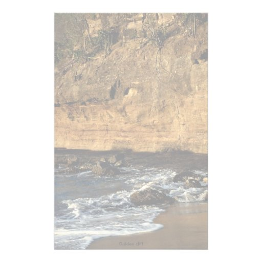 Golden cliff stationery paper