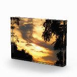 Golden Clouded Sunrise in Acrylic Awards
