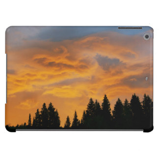 Golden Clouds Sunrise iPad Air Covers