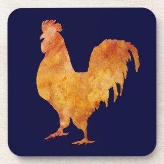 Golden Cockerel Drink Coaster