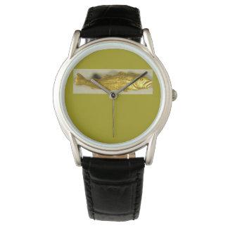 Golden codfish watch