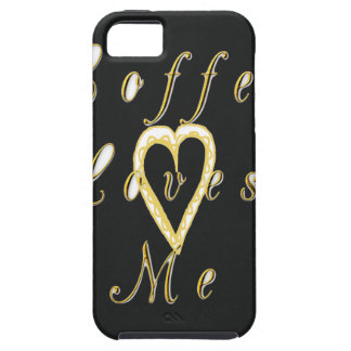 Golden Coffee love me. iPhone SE/5/5s Case