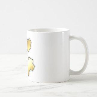 Golden CoG Logo Classic White Coffee Mug