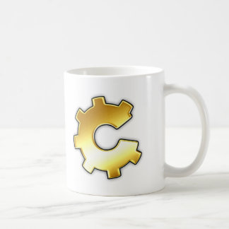 Golden CoG Logo Coffee Mug