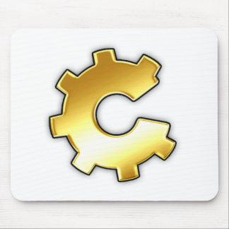 Golden CoG Logo Mouse Pad