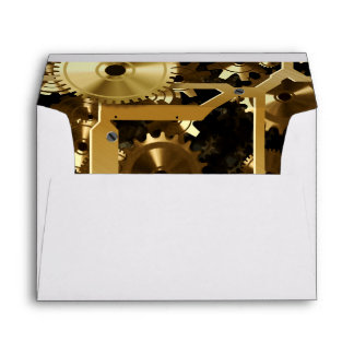 Golden Cogs And Gears 3 Dimensional Envelopes