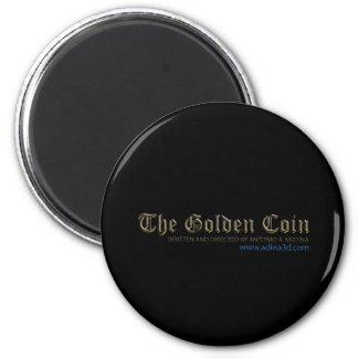 Golden Coin magnet