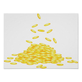 Golden Coins Poster