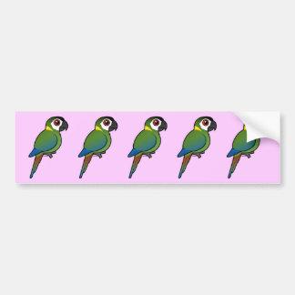 Golden-collared Macaw Bumper Sticker