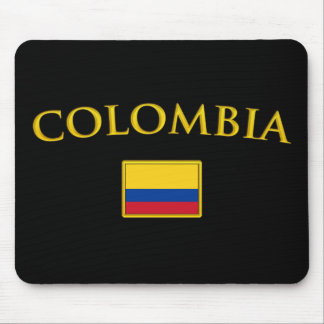 Golden Colombia Mouse Pads
