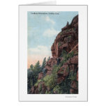 Golden, Colorado - Lookout Mountains View Greeting Cards