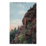 Golden, Colorado - Lookout Mountains View Posters