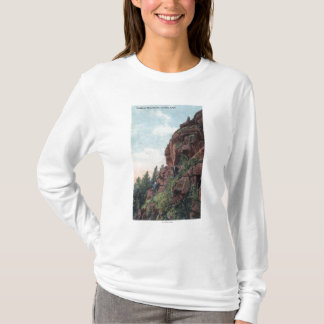 Golden, Colorado - Lookout Mountains View T-Shirt