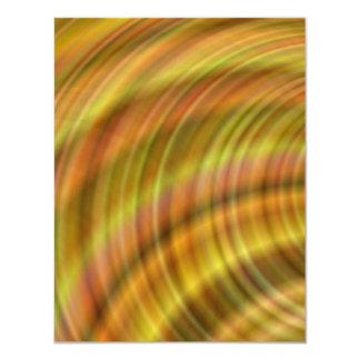 Golden colorful design card