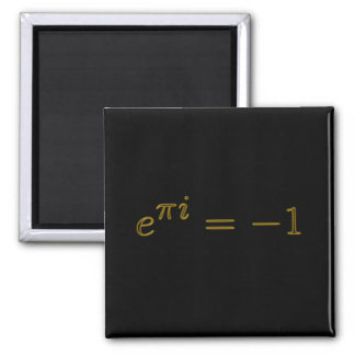 Golden Complex Equation Magnet