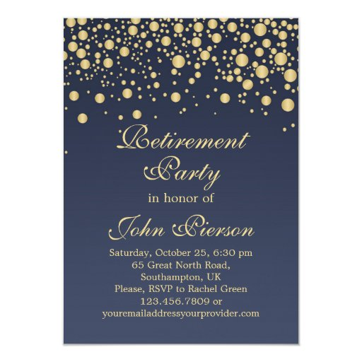 Invitation To Retirement Party was best invitations example