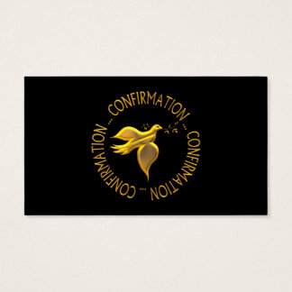 Golden Confirmation and Holy Spirit Business Card